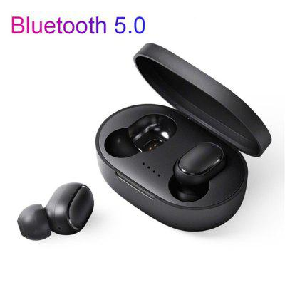 A6S Bluetooth  Earphones 5.0 TWS HD Stereo Sports  Gaming Headset for xiaomi huawei Samsung phones