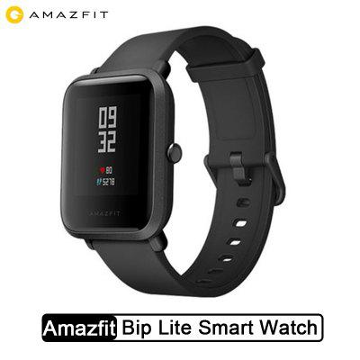 Amazfit Bip Lite YouthWatch Lightweight smartwatch with 45 Days Standby GPS Xiaomi Ecosystem Product Image