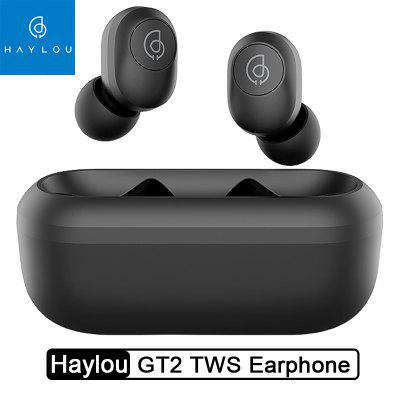Haylou GT2 TWS Wireless Earphones HD Stereo Bluetooth 5.0 Headphones Automatic Pairing Earbuds