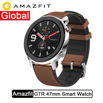 Global Version Amazfit GTR 47mm Smart Watch 5ATM Smartwatch 24Days Battery Music Control Image
