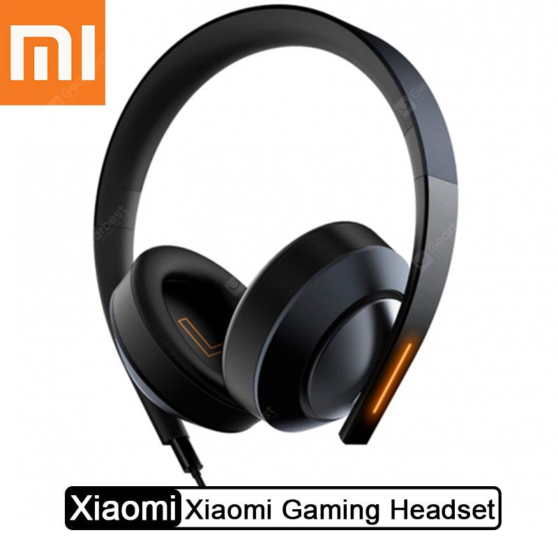 Xiaomi Gaming Headset 7.1 Virtual Surround Headphones 3.5mm With Microphone Noise Cancelling - Black China