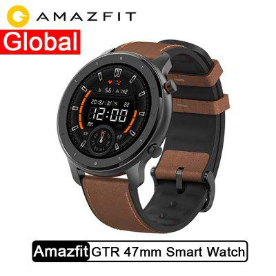 Global Version Amazfit GTR 47mm Smart Watch 5ATM Smartwatch 24Days Battery Music Control
