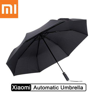 Xiaomi Automatic Folding Umbrella Short Handle Rain Dual-Use Ultra-Light Windproof UV Rain Umbrella