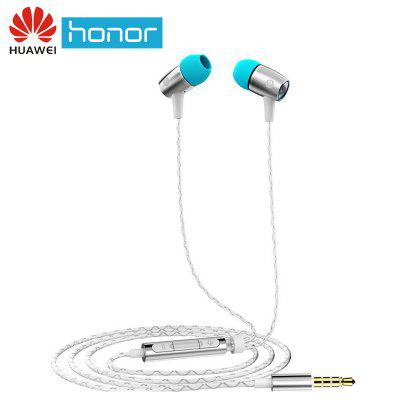 Huawei Honor Engine earphones AM12 Plus with mic Three Keys Drive-By-Wire 3.5 mm Headset Jack