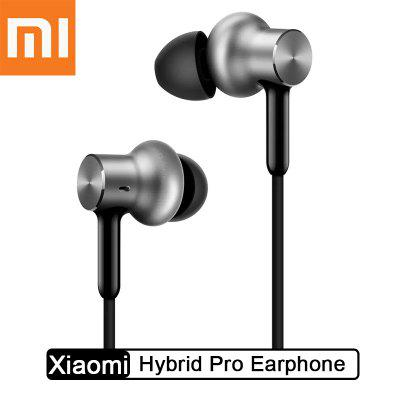 Xiaomi Hybrid Pro Earphone dynamic Optimized sound quality Circle Iron Dual Drivers In-Ear Headset
