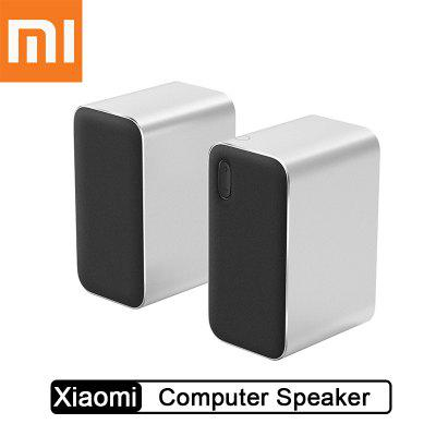 Xiaomi Bluetooth Computer Speaker Wireless Metal Speaker Double Bass Stereo For Computer Phone