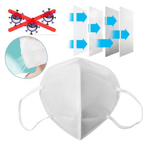 10PCS KN95 N95 Face Mask Disposable Breathable Protective Masks in US warehouse