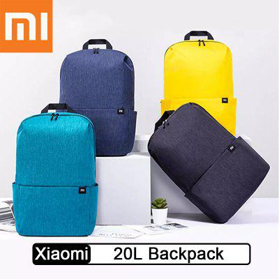 Xiaomi 20L Colorful Backpack Bag Upgraded high capacity Leisure Sports Pack Bags For Travel Camping