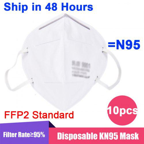 1PC-50PCS KN95 N95 Mask Disposable Breathable Protective Anti-virus FFP2 Standard for Health