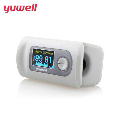 Yuwell YX301 Pulse Finger Oximeter Portable Pulse Oximeter Blood Monitor Color LED Display