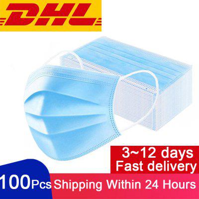 DHL Express Delivery Disposable Hygiene Mask Anti-dust Safe Breathable Face Masks