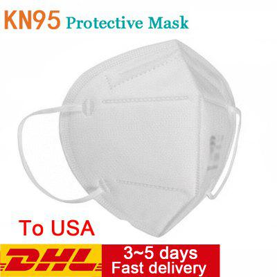 10PCS KN95 N95 Respirator Face Mask Disposable Breathable Protective Masks in US warehouse