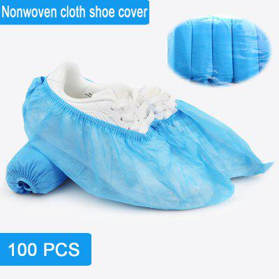 100PCS Disposable Shoe covers thick non-slip wear-resistant indoor home hotel breathable foot cover