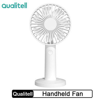 Qualitell Portable Handheld Fan With Rechargeable Built-in Battery Micra USB Design Handy Mini Fan