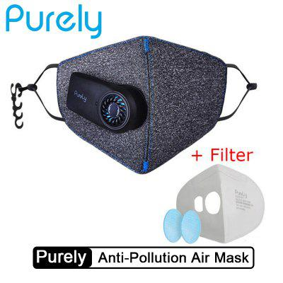 In stock Purely Anti-Pollution Air Face Non-Medical Mask with PM2.5 Filter from Xiaomi youpin
