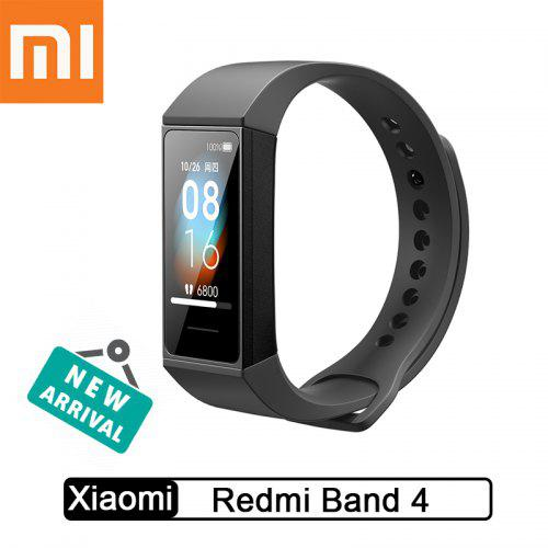 Gearbest Xiaomi Redmi Band 4 Smart Bluetooth 5.0 Waterproof Bracelet Touch Large Color Screen Wristband - Black China