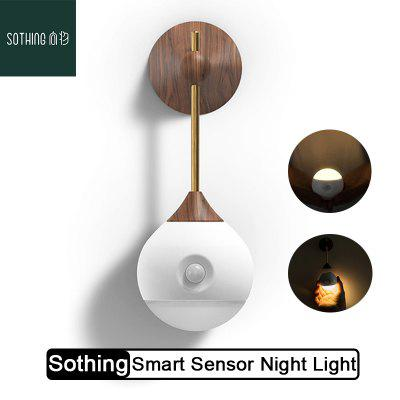 Sothing Sunny Smart Sensor Night Light Infrared Induction Induction Charging USB from Xiaomi Youpin