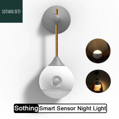 Sothing Sunny Smart Sensor Night Light Infrared Induction USB Charging Removable From Xiaomi Youpin