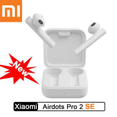 2020 Xiaomi Airdots Pro 2 SE سماعة Mi True Wireless TWS Bluetooth Dual SBC / AAC Tap Stereo Control Dual MIC ENC
