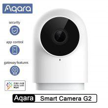 Aqara Smart Camera G2-nätverk med Gateway Hub-funktion 1080P Kopplingsalarm 140 graders IP-kamera