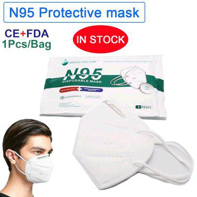 N95 Protective Mask Respirator anti fog dust-proof Breathable Non-Medical Disposable Masks