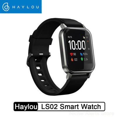 New Haylou LS02 Global Version Smart Watch IP68 Waterproof 12 Sport Modes Call Reminder Bluetooth 5.0 Band