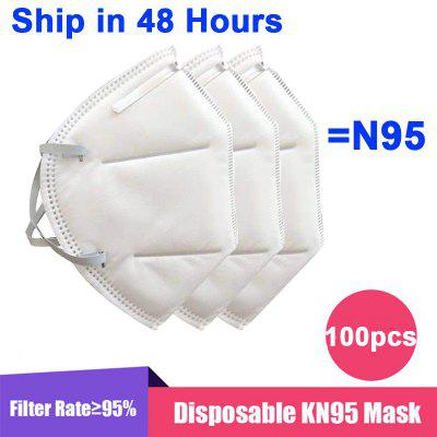 KN95 N95 Mask Disposable Breathable Protective Non-Medical Fack Masks For Health