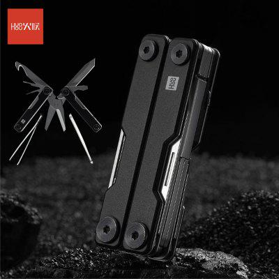 HUOHOU MINI Multi-Function Knife Pocket Folding Stainless Steel Aluminum alloy Scissors corrosion resistance from Xiaomi Youpin