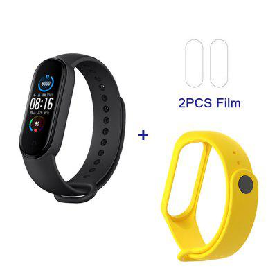 Xiaomi Mi Band 5 Smart Dynamic Color Screen 11 Sports Modes Women Health Mode Remote Camera Function New Magnetic Charging Sensor Upgrade CN Version