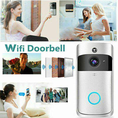Smart WiFi Doorbell Camera Video Wireless Remote Door Bell CCTV Chime Phone APP 720P HD