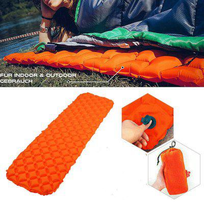 Inflatable Sleeping Mat Ultralight Camping Pad Folding Air Mattress Hiking Tent