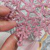 50x Pink Collection Christmas Decorations Baubles Stars Cones Hearts Tree Topper Ornament