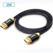 Premium HDMI Cable V2.0 4K Ultra HD 3D жоғары жылдамдықты Ethernet 1м 2м 3м 5м 10м 20м
