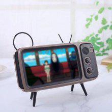 Altoparlant Bluetooth Wireless Retro TV Style Bluetooth Audio