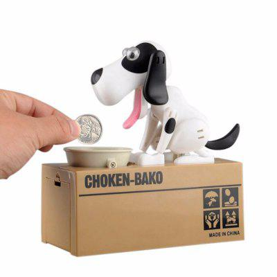 Small Dog Piggy Save Money Bank Saving Money Pot Coin Box