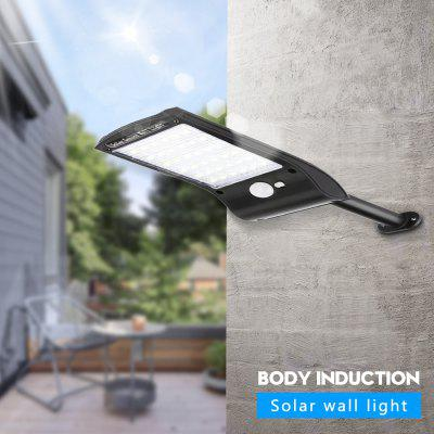 Solar Motion Sensor Light Outdoor 36 LED Super Bright Lamp Wireless Waterproof Flexible Wall Lights