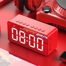 BT506 LED Speaker Alarm Clock with Wireless Bluetooth for Office Bedroom