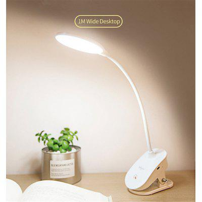 Clip-on Reading Lamp Folding Bedroom Bedside USB Charging Desk Lamp with Clip Night Light