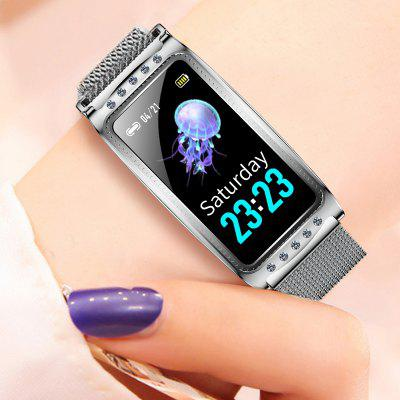 F28 Fashion Women Smart Bracelet Color Screen IP68 Waterpoof