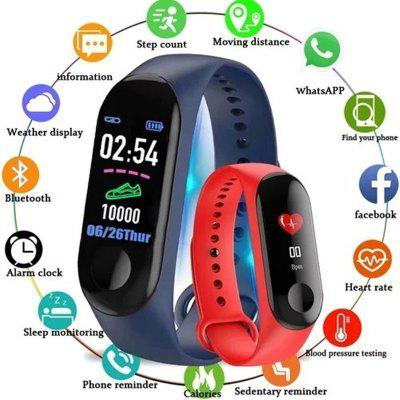 M3 Smart Band Bluetooth Sports Fitness Tracker Smart Wristband Color Screen Smart Bracelet
