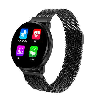 CF68 Full Touch Screen Smart Watch 1.22 Inch Heart Rate Blood Pressure Monitoring Watches