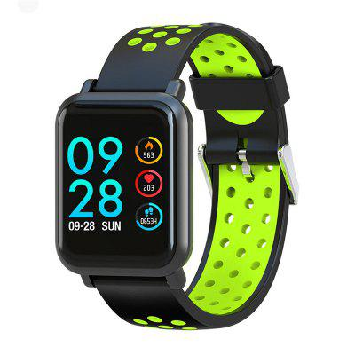 S9 Smart Watch Ultra-thin Dial Blood Pressure Heart Rate Monitoring IP68 Waterproof Watches