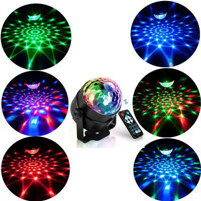 LED Party Effect Disco Ball Light Stage Light Sound Activate Laser Projector RGB Stage Light