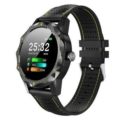 Smart Watch Heart Rate IP68 Waterproof Sports Mode Silicone Strap Mens Smart Watches