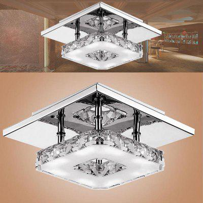 Indoor Ceiling Crystal Lamp Modern LED Ceiling Lamp Living Meal Bed Room Home Decoration