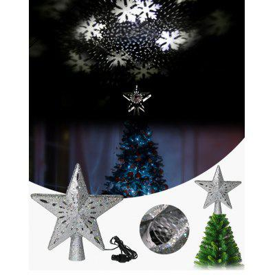 Craft Smart Let it Snow Snowflakes Wooden Rubber Stamp Holidays Christmas H7