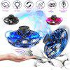 Flynova Mini Drone UFO Fingertip Upgrade Flight Induction Aircraft Toy With Shinning LED Lights