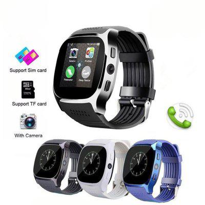 T8 Bluetooth Smart Watch With Camera Support SIM TF Card Fashion Smart Watches