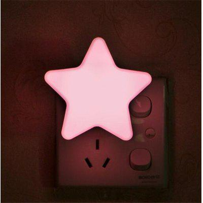 LED Sensor Light Mini Star Night Light Baby Sleeping Bedside Lamps LED Sensor Control Night Lights
