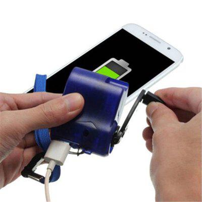 USB Phone Camping Hiking Emergency Charger Outdoor Sports Charger Camping Equipment Survival Tools